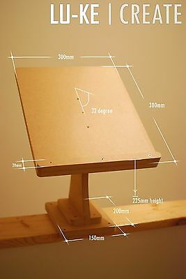 PAIR OF CDJ Deck Stand / Shelf / Units for CDJs - SOLID CONSTRUCTION