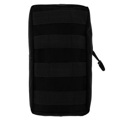 Hot Tactical MOLLE Modular Utility Pouch Pack Military Accessory Bag Black