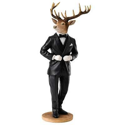 Border Fine Arts Stags With Style Collection Edward Figurine New Boxed A27422