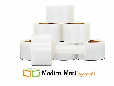"5"" x 1000' Ft 48 Rolls ( 4 Cases ) Stretch Wrap Film Hand Wraps Banding"