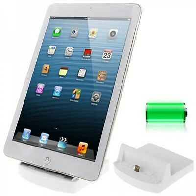 Docking station for Apple iPad Air 2 Mini 3 Retina Cradle Desk dock White