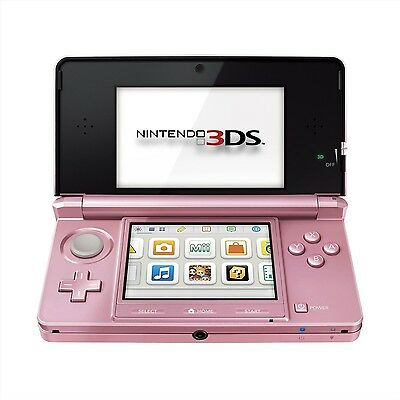 Coral Pink Nintendo Handheld Console 3DS - Brand New - Fast Free P+P