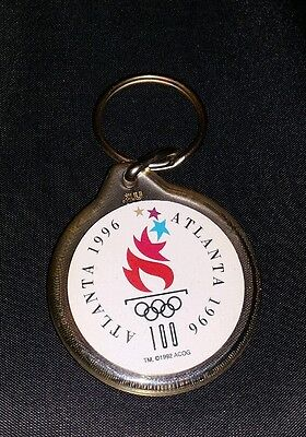 1996 Atlanta Olympic Games Keyring Coca Cola