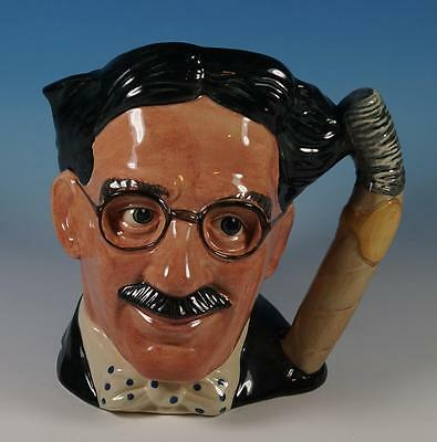 Royal Doulton Large Character Jug Celebrity Collection Groucho Marx D 6710