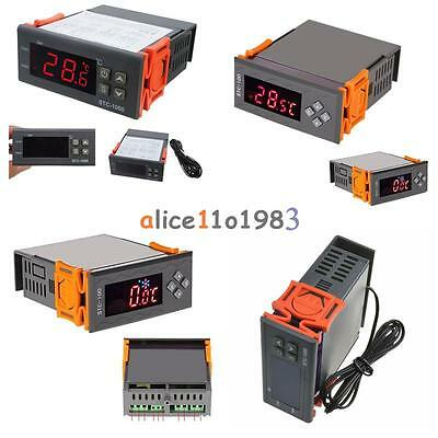 12V/24V/110V/220V STC-100/1000 Digital Temperature Controller Thermostat w/NTC