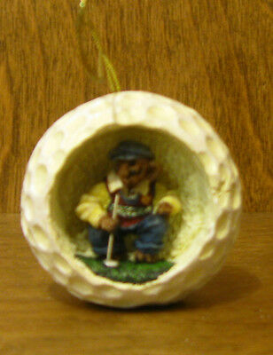Boyds Resin Ornaments #25736 Putter T. Parefore...Birdie This, Bogie That,  GOLF