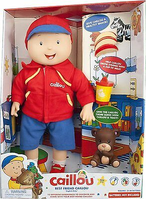 Caillou Best Friend Interactive Electronic Doll Sings Iconic Theme Song Music