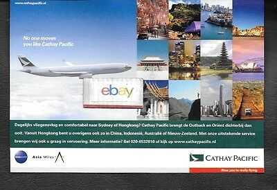 Cathay Pacific Airways Swire Group No One Move You Like Cathay Pacific A330 Ad