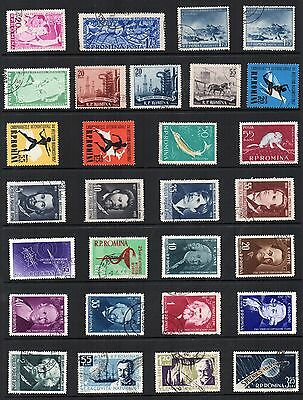 ROMANIA STAMPS Collection MINT USED Ref:QD288