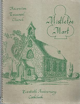 *WESTMINSTER MD 1994 ASCENSION EPISCOPAL CHURCH COOK BOOK 20th ANNIVERSARY *RARE