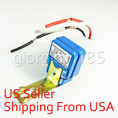 Automatic Auto On Off Street Light Switch Photo Control Sensor DC 12V
