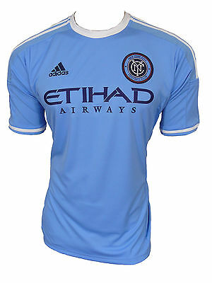 Adidas New York City FC Jersey MLS Size L New