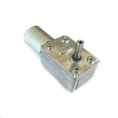 NEW Worm gear motor 12V 20 rpm Miniature high torque Low speed gear motors 370