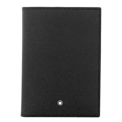 Passport holder Montblanc Sartorial black - 113232