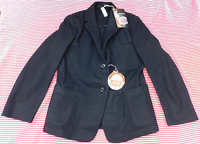 Girls vintage black blazer UNUSED school uniform Chest 30 inch Swan Lake 1950s