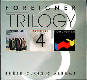Foreigner - Trilogy 3CD Foreigner, Foreigner 4 and Agent Provocateur NEW/SEALED