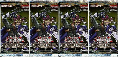 YuGiOh! Duelist Pack Rivals of the Pharaoh 1st Edition Booster Packs x4
