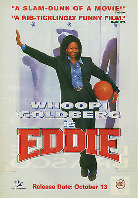 A4 Advert for the Video Release of Eddie Whoopi Goldberg
