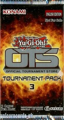 "YuGiOh! ""OTS Tournament Pack 3"" New And Sealed Booster Pack x1"