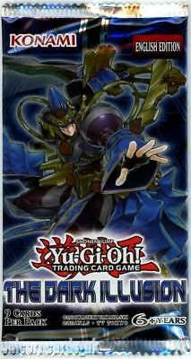 YuGiOh! The Dark Illusion UNL Edition New And Sealed Booster Pack x1