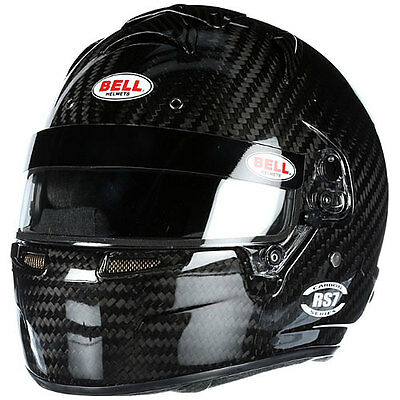 BELL Helmets 2152033 RS7 Carbon Helmet SA2015 Certified Without Chin Spoiler Met