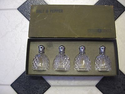 Forman 4 Family Brooklyn New York New In The Box Crystal Salt & Pepper Sets