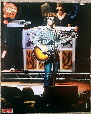 Noel Gallagher / Oasis - NME Poster - Onstage - RARE!