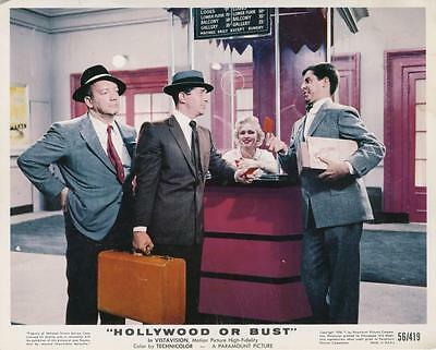 """""""hollywood Or Bust""""""""-Original Photo-Dean Martin-Jerry Lewis-Maxie Rosenbloom"""