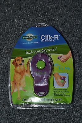 PetSafe Clik-R Training Clickers Trainer - New Open Box - purple - AEVK