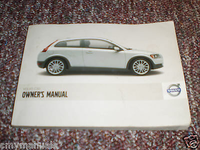 2007 Volvo C30 Car Owners Manual Book Guide All Models