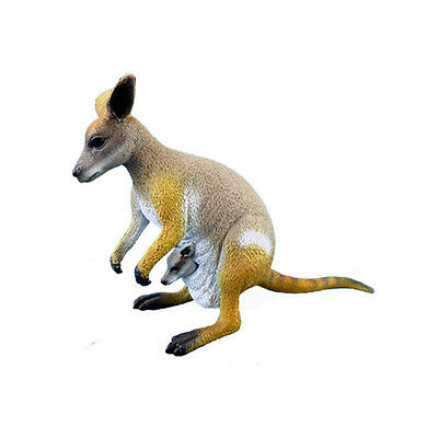 Science & Nature 75451 Rock Wallaby Animals of Australia Marsupial Toy Figurine
