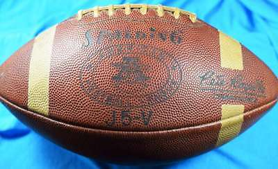 Rare Late 1960`s Spalding Afl Pete Rozelle Game Football Nice