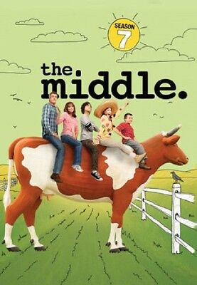 The Middle Season 7 Series Seven Seventh New DVD Region 4
