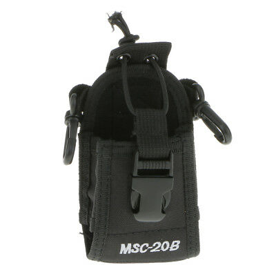 Walkie Talkie Radio Case Pouch Holster For Motorola Kenwood Midland Baofeng
