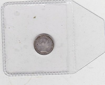 1853 Spain Silver One Real In Very Fine Condition