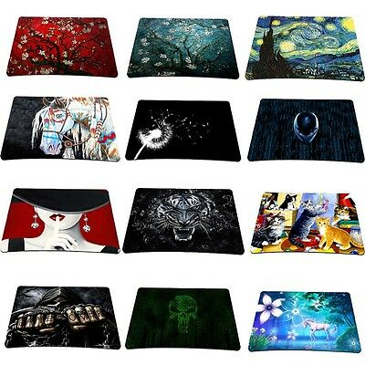 New Patterns Anti-slip Gaming Mouse Pad Mat Mousepad For Optical Laser Mouse