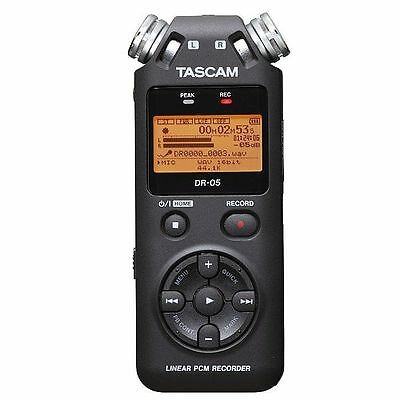 Tascam DR 05V2 Digital Audio Recorder With 4GB Micro SD Card