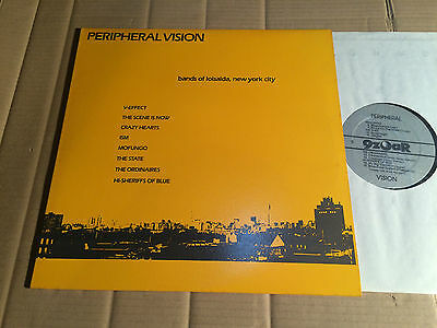 V/A - PERIPHERAL VISION - V-EFFECT / THE SCENE IS NOW / MOFUNGO / ISM u.a. - LP