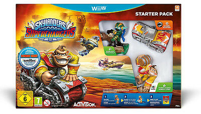 Skylanders Superchargers - Starter Pack (Wii U)  BRAND NEW AND SEALED - IMPORT