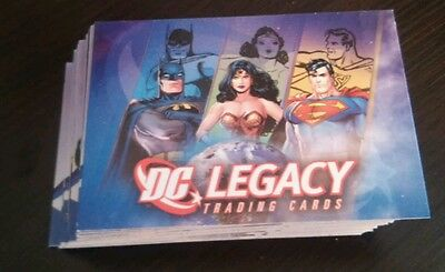 DC Legacy Base Card Set 50 Cards Rittenhouse DC