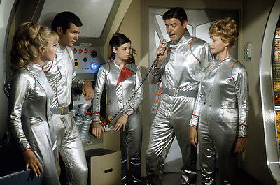 Lost in Space Guy Williams Marta Kristen in space suits Jupiter 2 24x36 Poster