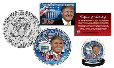NEW Donald Trump 45th President of the United States JFK Collectible Coin