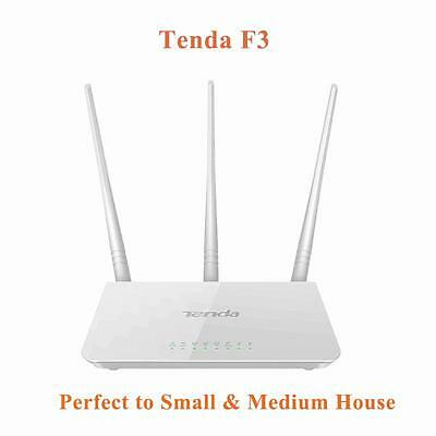 TENDA F3 300Mbps WiFI Router Wireless Repeater Extender Home