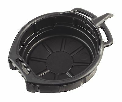 OIL COOLANT & GEARBOX FUEL DRAIN PAN TRAY 16 Litre Capacity Bucket CAR MOTORBIKE