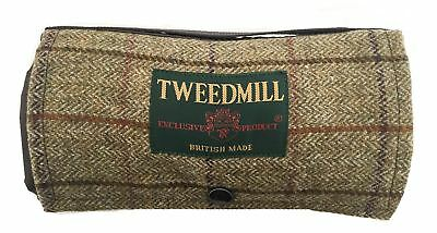 Walker Tweed Waterproof Picnic Rug BRITISH MADE for walking hiking trips