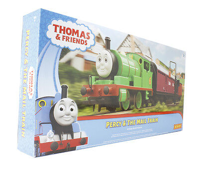 HORNBY Set R9284 Percy and the Mail Train - Thomas & Friends Train Set, NEW!