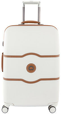 "Delsey Luggage Chatelet Hard+ 24"" Spinner Suiter Suitcase - Champagne"