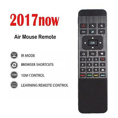 New 2.4GHz Wireless Air Mouse Keyboard Remote For Android Smart TV Box PC