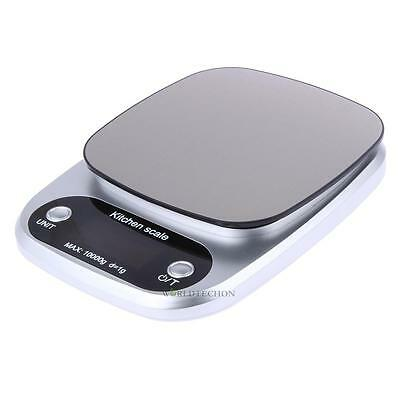 10000g x 0.1g Digital LCD Kitchen Scale Weight Scale Electronic Scale Blue Light