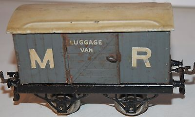Hornby Series O Gauge Very Early 'm.r.' Luggage Van Original Condition